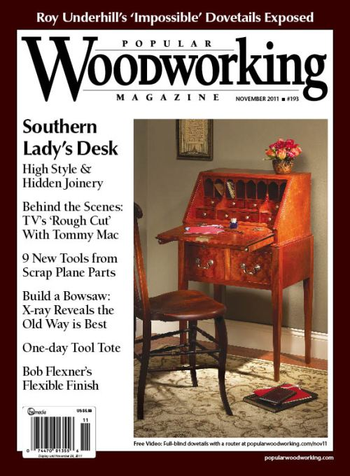 Popular Woodworking November 2011 issue