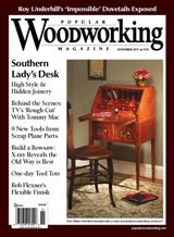 November 2011 Issue Popular Woodworking