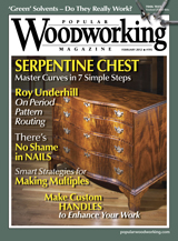 February 2012 Issue Popular Woodworking
