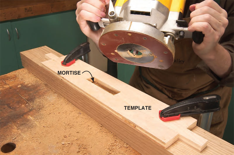 Wedged Mortise and Tenon - Popular Woodworking Magazine