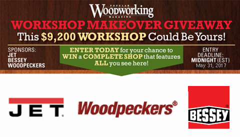 2017 Workshop Makeover Giveaway