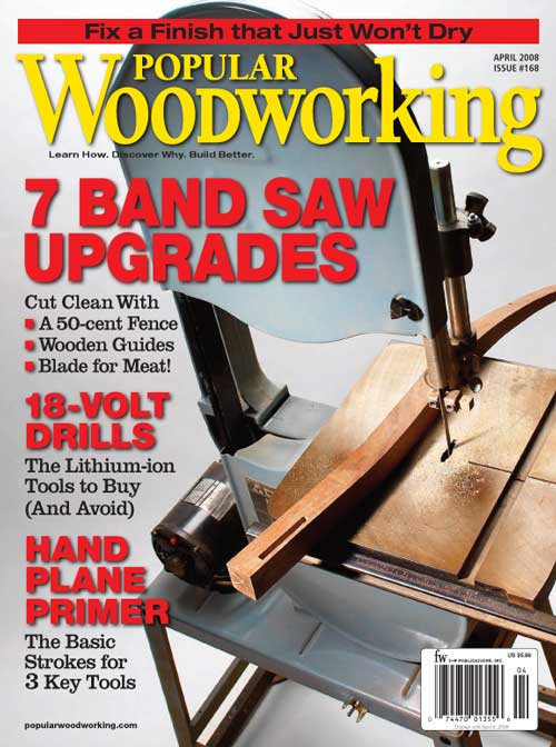 Popular Woodworking April 2008 issue