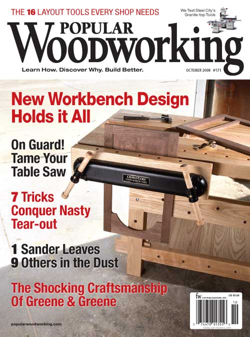 Popular Woodworking October 2008 issue