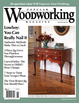 June 2010 Issue Popular Woodworking