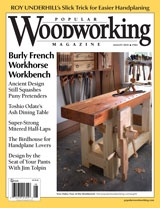 August 2010 Issue Popular Woodworking