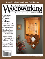 November 2010 Issue Popular Woodworking