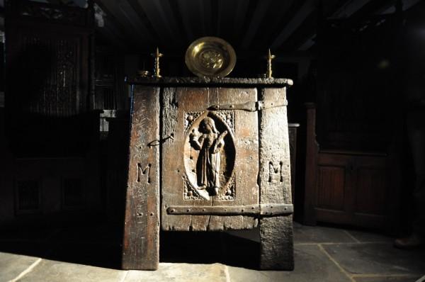 A French aumbry circa 1470.
