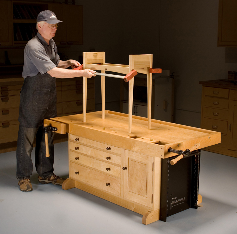 adjustable woodworking table