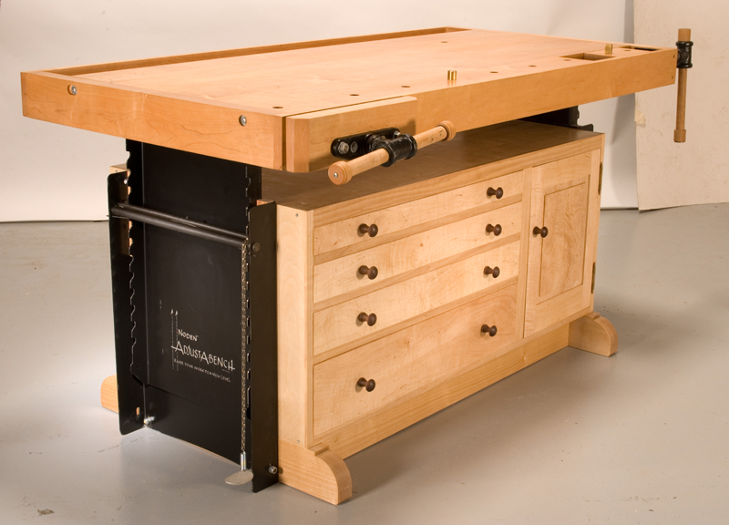 Adjustable Workbench - Popular Woodworking Magazine