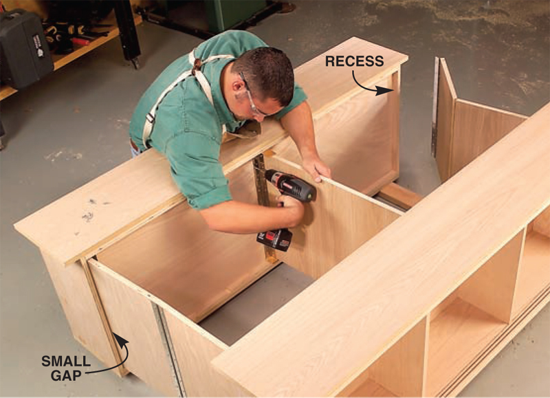 cabinet assembly 3