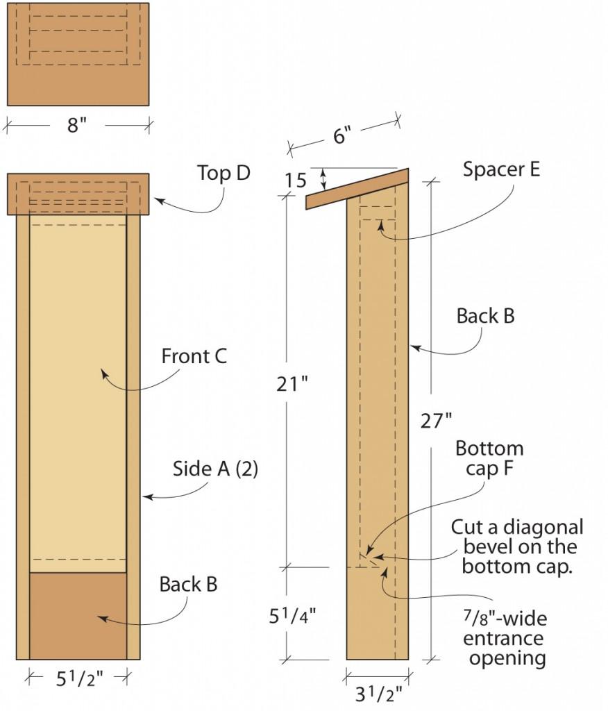 build a bat house
