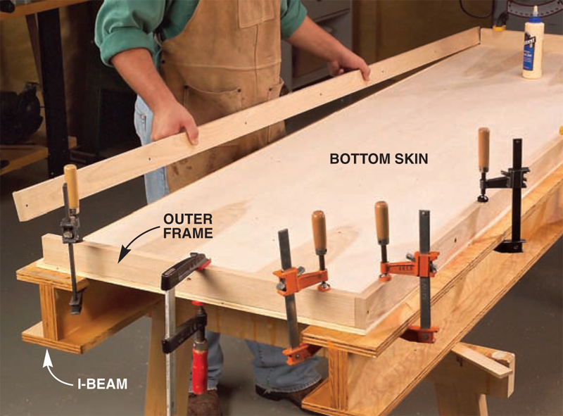 Torsion-Box Workbench and Expandable Assembly Table - Popular Woodworking Magazine