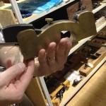 Brass infill
