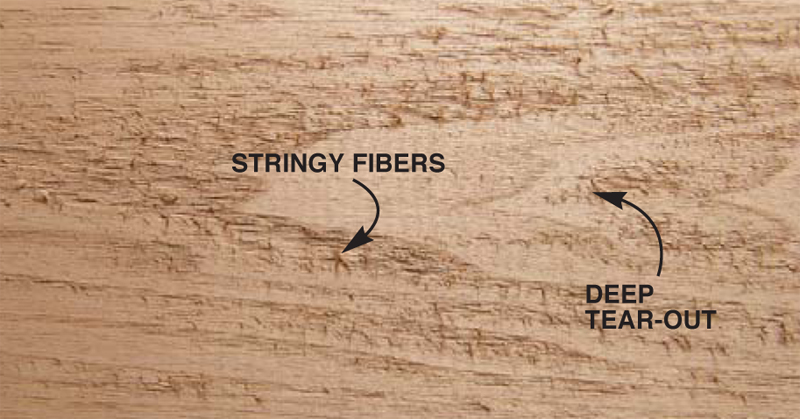 how to fix fuzzy wood