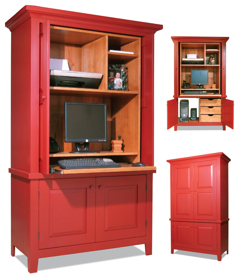 Computer Armoire - Popular Woodworking Magazine