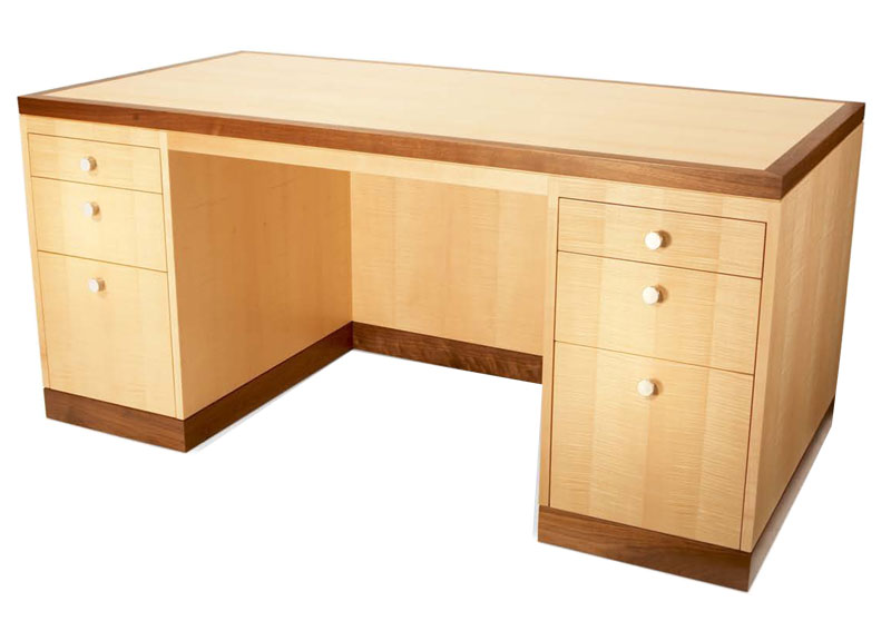 Build Your Own Desk From Maple Free Simple Desk Plans