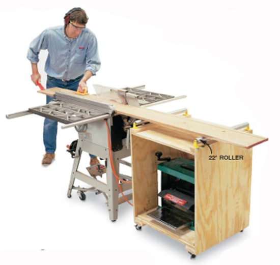 Double-Duty Planer Stand - Popular Woodworking Magazine