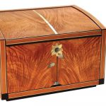 Autumn Doucet, Figured Cherry Chest