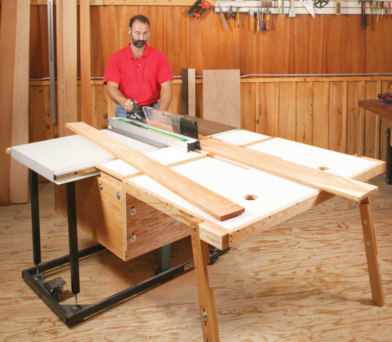 Table Saw Folding Outfeed Table Folding Outfeed Table