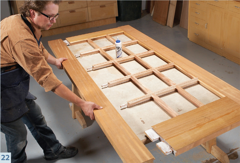 Build your own french doors popular woodworking magazine for Build your own window
