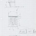 Design development on graph paper