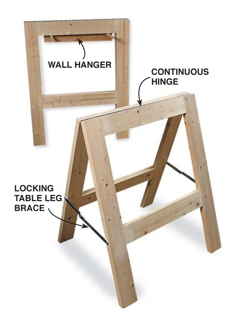Great Sawhorse - Popular Woodworking Magazine
