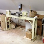 Shop-made lathe