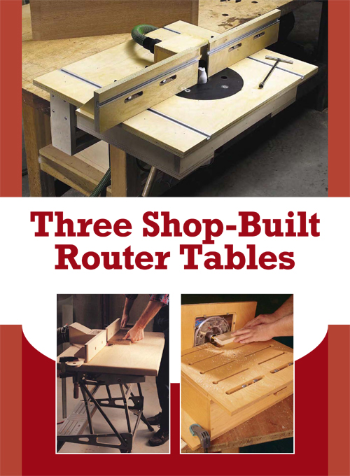 Router Table Plans You Can Complete with $50 and Two Days