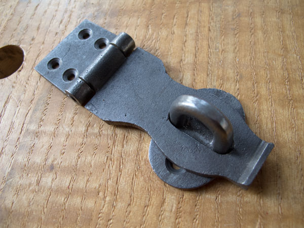 Iron hardware for Dutch tool chests