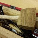 The proven and robust joiner's mallet