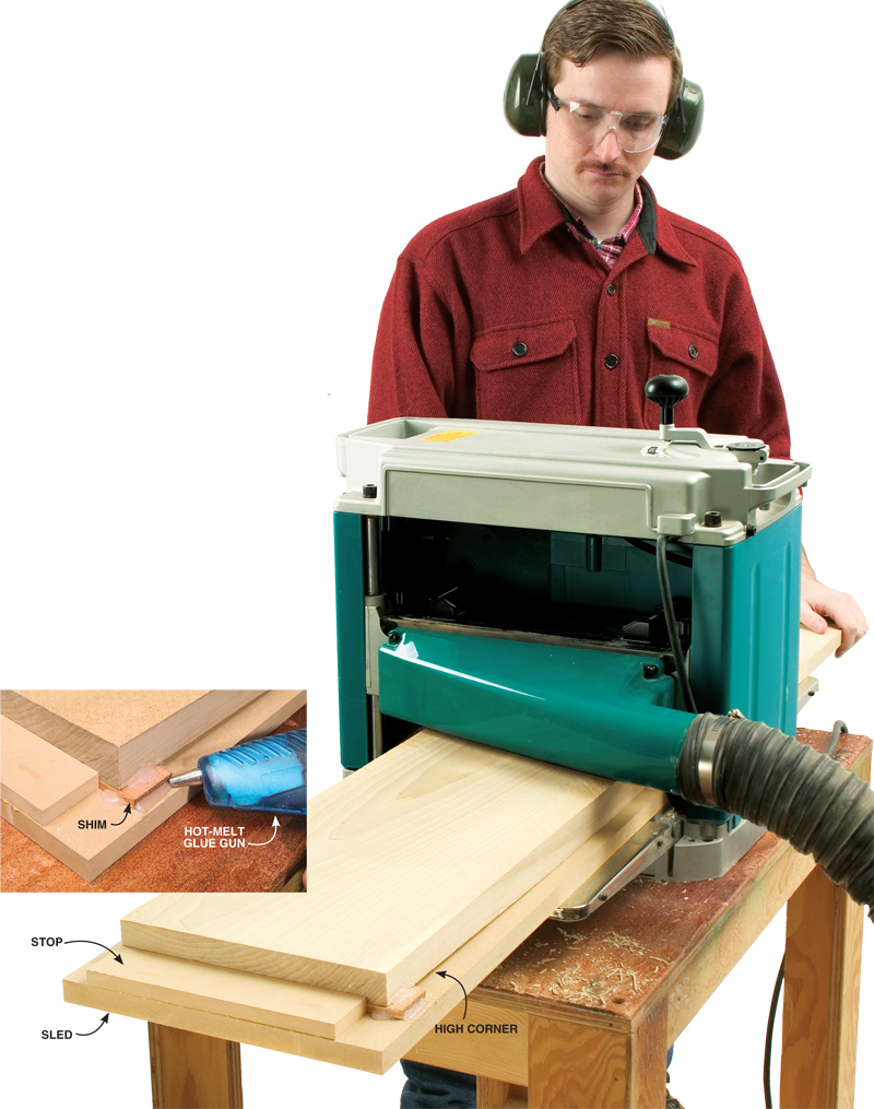 ... Extra 8/2/12 - Jointing with a Planer - Popular Woodworking Magazine