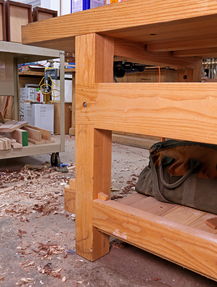 woodworking bench joints
