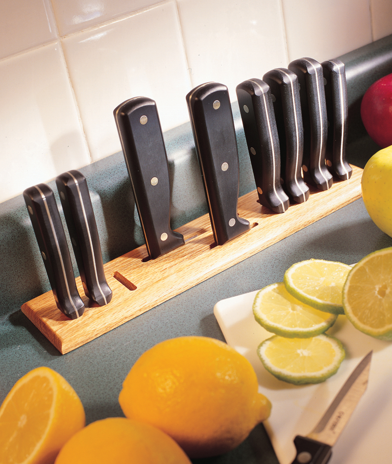 aw extra 9 13 12 countertop knife rack popular