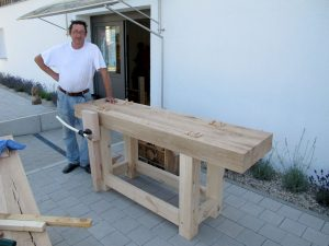 marc bench IMG 2575 300x225 Knocking Together a Workbench