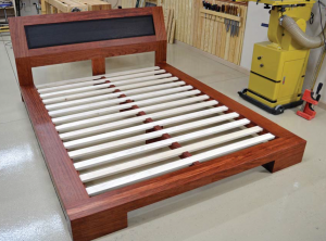 You may be inspired to design your own bed after reading about Marc's beautiful work on this platform model.