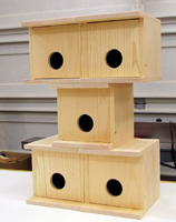 build your own birdhouse,  cardinal birdhouse plans, decorative birdhouse plans