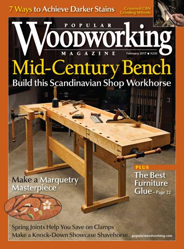 Popular Woodworking Magazine, February 2017