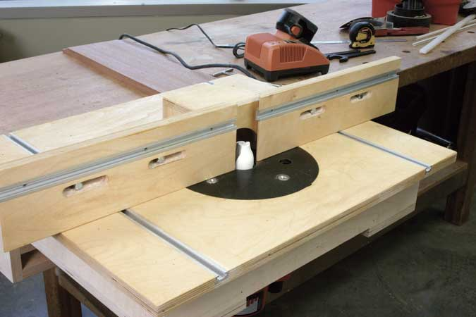 One weekend router table popular woodworking magazine router table greentooth Image collections