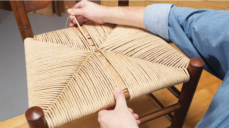 Плетеная мебель своими руками из каната 67