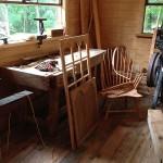 Workbench with sash.