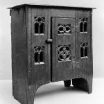 A late 15th-century aumbry in the collection of the Metropolitan Museum of Art.