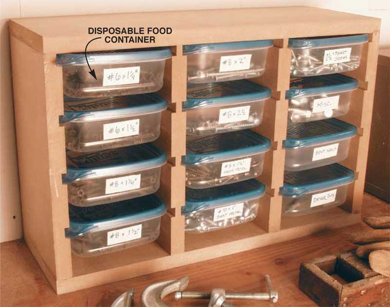 Small Parts Organizer Popular Woodworking Magazine