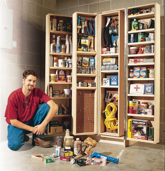 Aw extra giant shop cabinet popular woodworking magazine for American woodcraft kitchen cabinets