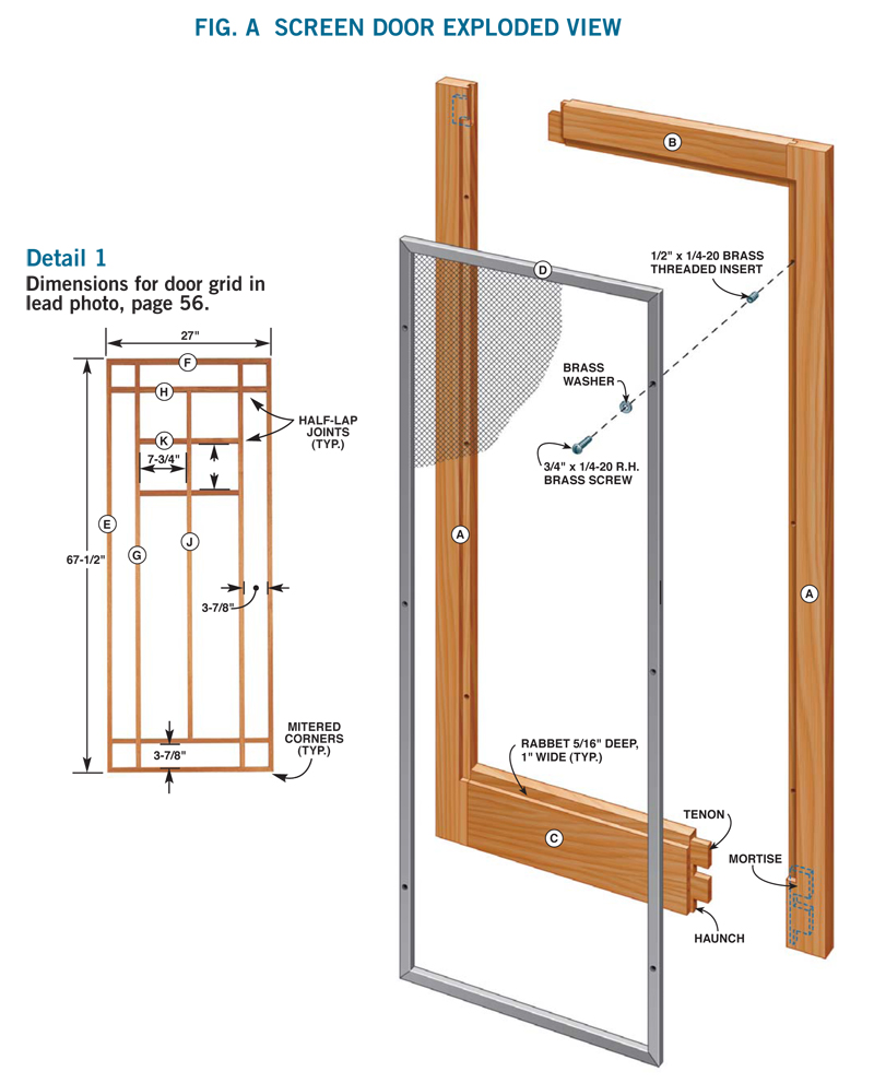 How to Make a Storm Door: DIY Screen Door Project