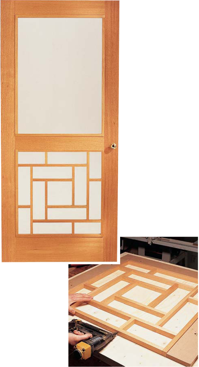 how to make a storm door diy screen door project