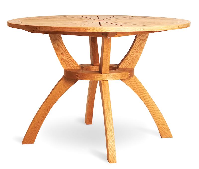 AW Extra 4/11/13 - Sunburst Patio Table - Popular Woodworking Magazine