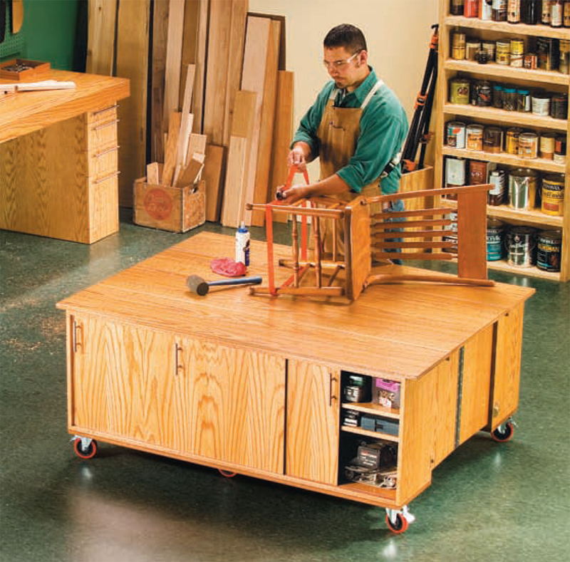 AW Extra - Torsion-Box Workbench and Expandable Assembly