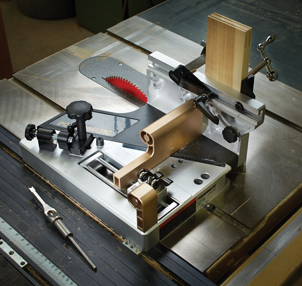 Tool Test Powermatic Table Saw Tenon Jig