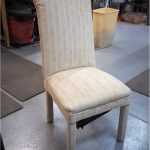 The commercial chair as purchased.