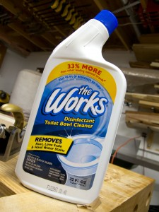 Remove Rust, Zinc and Black Oxide with 'The Works'